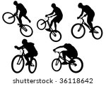 image of sports bike.... | Shutterstock . vector #36118642