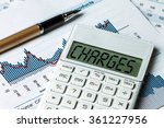finance concept charges... | Shutterstock . vector #361227956