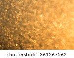 Background Of Golden Luminous...