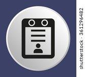 calendar icon | Shutterstock .eps vector #361296482