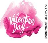 vector handwritten calligraphy... | Shutterstock .eps vector #361299572