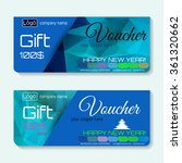 gift voucher   place for text ... | Shutterstock .eps vector #361320662