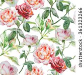 seamless pattern with... | Shutterstock . vector #361323266