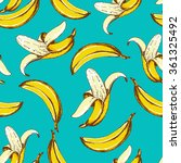 seamless fruit pattern with... | Shutterstock .eps vector #361325492