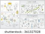 doodle line design of web... | Shutterstock .eps vector #361327028