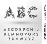 geometric type design set  ... | Shutterstock .eps vector #361331942
