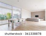 Interior Of A Modern Bright...