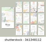 calendar 2016. templates with... | Shutterstock .eps vector #361348112