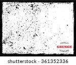 vector grunge texture.distress... | Shutterstock .eps vector #361352336