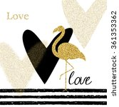 Creativity Card With Gold...