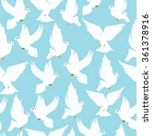 pigeon pattern seamless pattern ...   Shutterstock .eps vector #361378916
