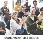 audience applaud clapping... | Shutterstock . vector #361400318