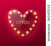 valentine s day background | Shutterstock .eps vector #361425215