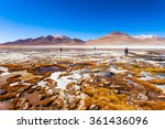 Small photo of Laguna Honda is a salt lake in the altiplano of Bolivia
