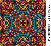 vector tribal indian vintage... | Shutterstock .eps vector #361444712
