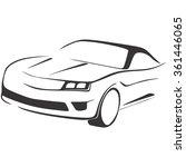 car | Shutterstock .eps vector #361446065
