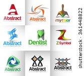 collection of vector logo...   Shutterstock .eps vector #361448822