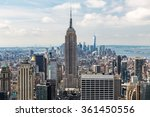 new york   august 23  view to... | Shutterstock . vector #361450556
