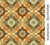 kaleidoscopic colorful flower... | Shutterstock . vector #361451408