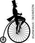 black vector silhouette of a...   Shutterstock .eps vector #361465196