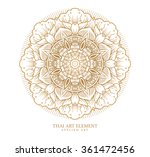 thai art element for design ... | Shutterstock .eps vector #361472456