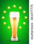 beer and gold stars for sport... | Shutterstock . vector #361477775