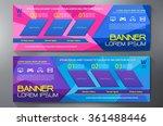 modern banner business design... | Shutterstock .eps vector #361488446