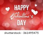 valentine's day background...   Shutterstock .eps vector #361495475