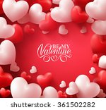 colorful soft and smooth... | Shutterstock .eps vector #361502282