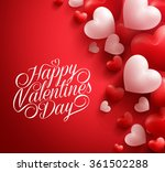 realistic 3d colorful soft and... | Shutterstock .eps vector #361502288
