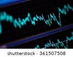 mobile finance with handmade... | Shutterstock . vector #361507508