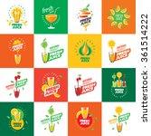logo of fresh juice | Shutterstock .eps vector #361514222