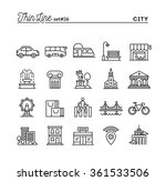 city  transportation  culture ... | Shutterstock .eps vector #361533506