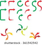 arrows   Shutterstock .eps vector #361542542