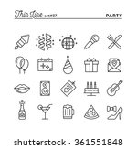 party  celebration  fireworks ... | Shutterstock .eps vector #361551848
