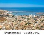 view of praia city in santiago  ... | Shutterstock . vector #361552442