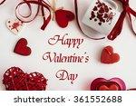 stylish heart love elements on... | Shutterstock . vector #361552688