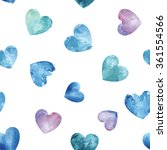 Seamless Pattern With Blue...