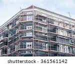 low angle architectural... | Shutterstock . vector #361561142