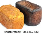 two loaves of bread | Shutterstock . vector #361562432