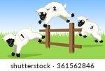 vector illustration of three... | Shutterstock .eps vector #361562846