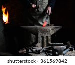The Blacksmith Forge The Hot...