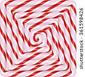 colorful square lollipop spiral ... | Shutterstock .eps vector #361598426