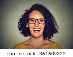 headshot of a happy smiling...   Shutterstock . vector #361600322