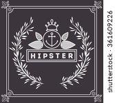 hipster style design  | Shutterstock .eps vector #361609226
