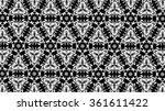black and gray patterns. f  | Shutterstock . vector #361611422