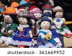 homemade cloth dolls for sale... | Shutterstock . vector #361669952