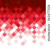 abstract rhombus mosaic...   Shutterstock .eps vector #361677326