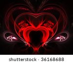 smooth heart | Shutterstock . vector #36168688