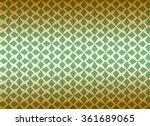 classic pattern rectangle vector | Shutterstock .eps vector #361689065